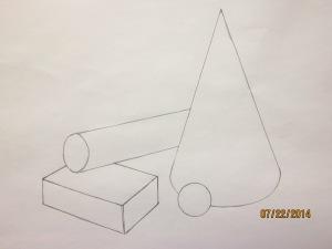 Shapes drawing